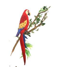 Hansa Papegaai Knuffel, Scarlet Ara 72 cm