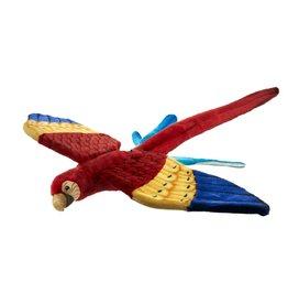 Hansa Vliegende Scarlet Ara 76 cm