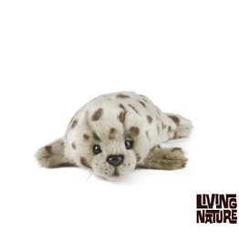 Living Nature Pluche Zeehond Puppy