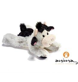 Anima Liggende Koe knuffel, 22 cm, Anima