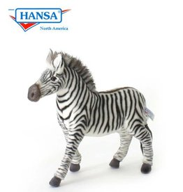 Hansa Zebra Knuffel, 32 cm, Hansa