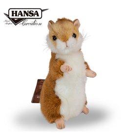 Hansa Knuffel Hamster, 15 cm, Hansa