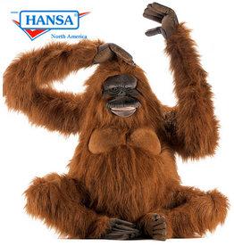 Hansa Grote Knuffel Orang Oetan, 80 cm, Hansa