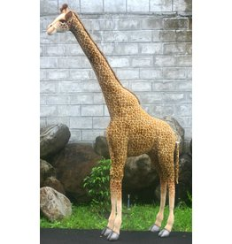 Hansa Grote Knuffel Giraffe, 240 cm, Hansa