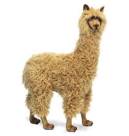 Hansa Pluche Alpaca 100 cm Bruin, Hansa