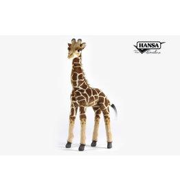Hansa Pluche Giraffe, 50 cm hoog