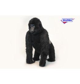 Hansa Zilverrug gorilla staand, Hansa