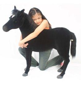 Hansa Pluche Paard Zwart, Hansa