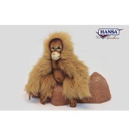 Hansa Orang-oetan Knuffel Hansa