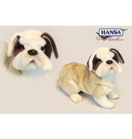 Hansa Bulldog Knuffel, 27 cm, Hansa