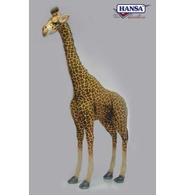 Hansa Grote Pluche Giraffe, 165 cm