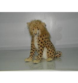 Hansa Pluche Cheetah Zittend