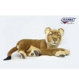 Hansa Knuffel Leeuw liggend