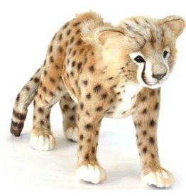 Hansa Pluche Cheetah lopend