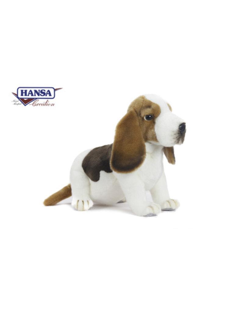 Hansa Pluche Basset hond