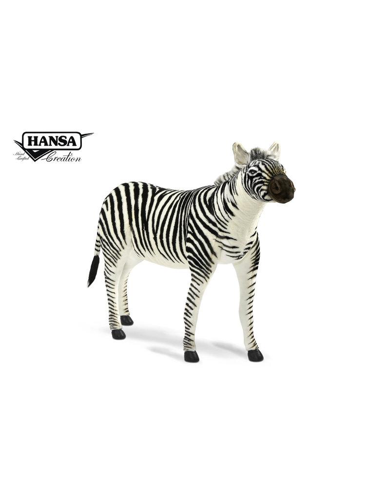 Hansa Grote Knuffel Zebra, Hansa