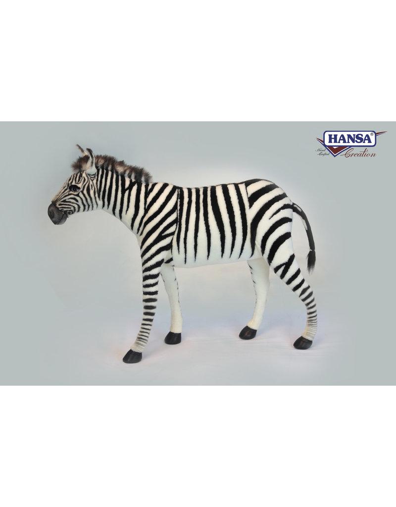 Hansa Grote Pluche Zebra, Hansa