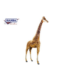 Hansa Grote Pluche Giraffe Knuffel