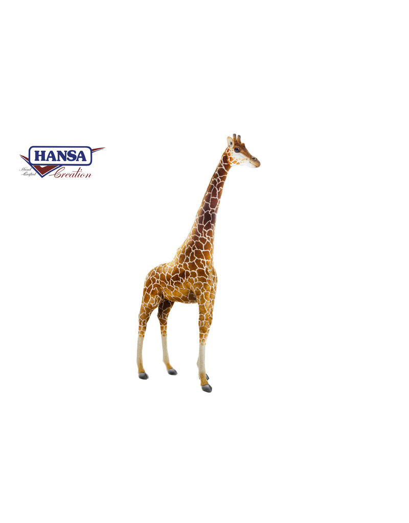 Hansa Grote Pluche Giraffe Knuffel, Hansa