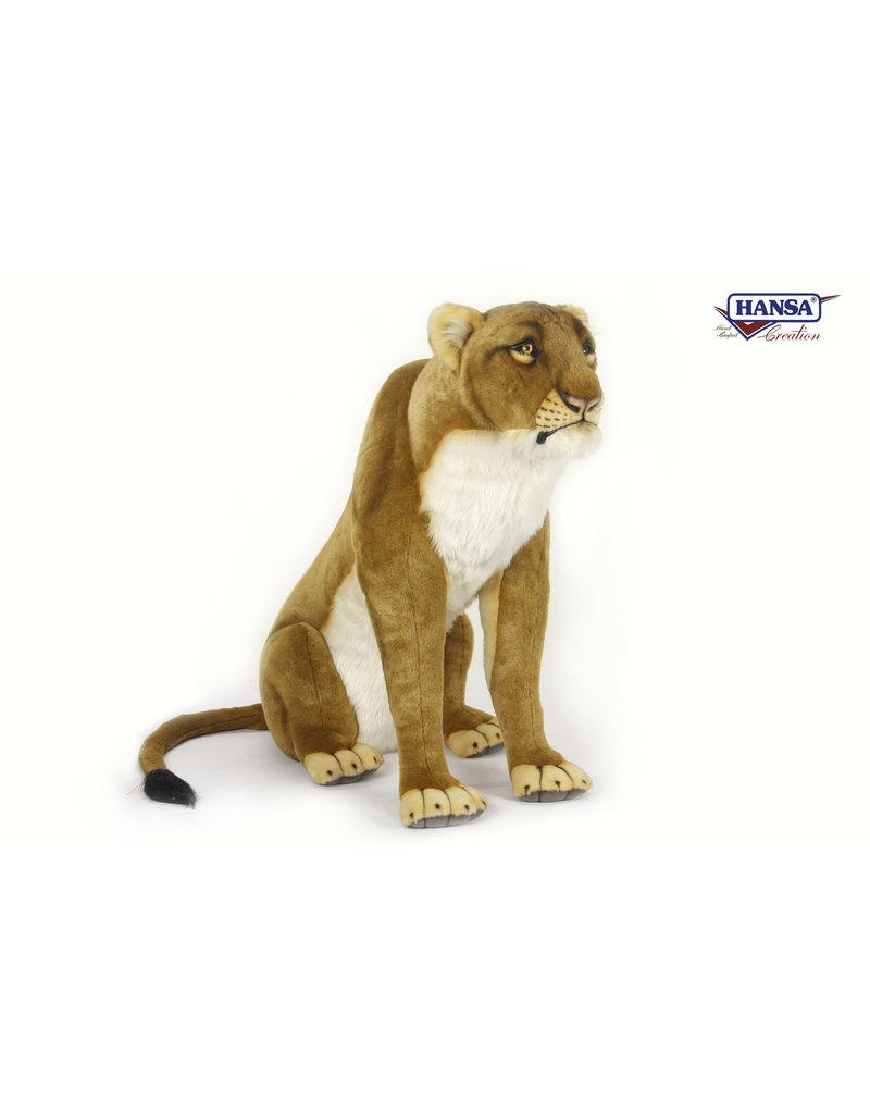 Hansa Grote knuffel Leeuw zittend, Hansa