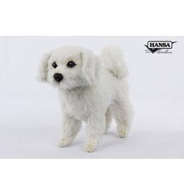 Hansa Bichon hond Knuffel