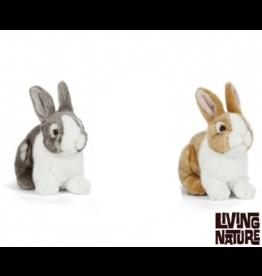 Living Nature Konijnen Knuffels, set van 2