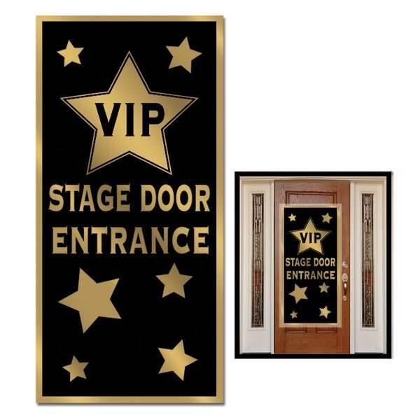 Deurposter Hollywood VIP