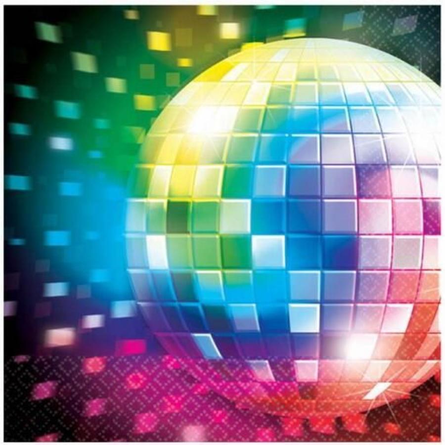 Servetten Disco Fever Discoball