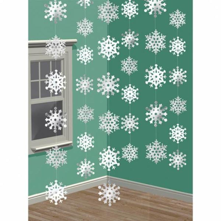 Decoratie draad Sneeuwvlokken