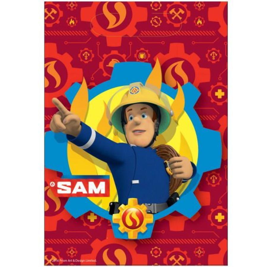 Feestzakjes Brandweerman Sam
