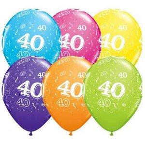 40 Jaar Versiering Slingers En Ballonnen Voor Je Verjaardag