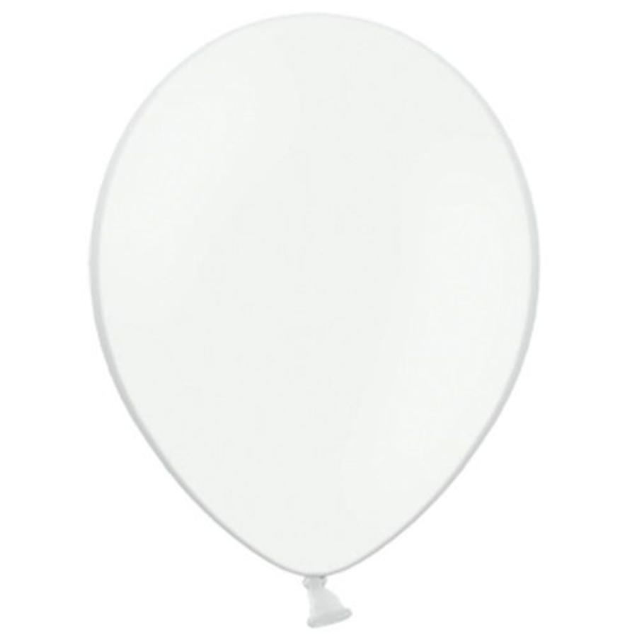 Ballonnen wit 10 stuks
