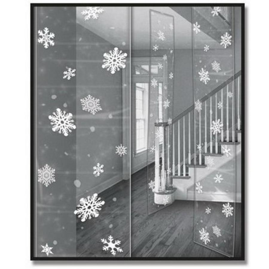 Party Panels sneeuwvlokken luxe 3 stuks
