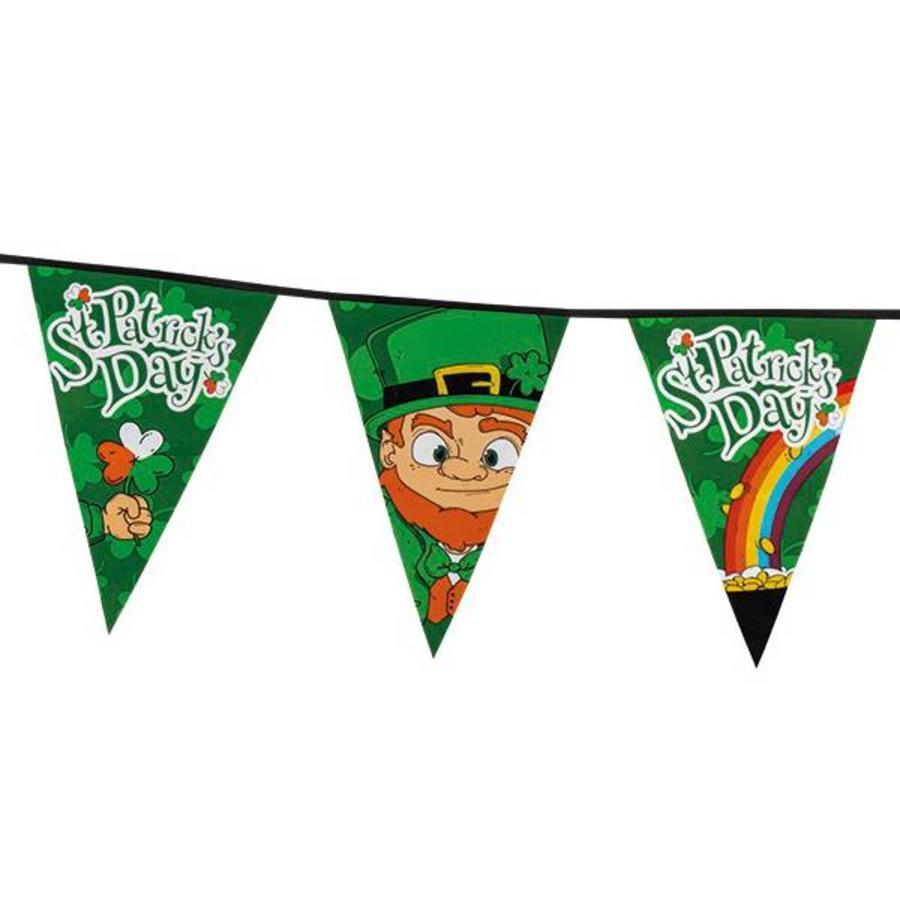 St Patricks Day vlaggenlijn MEGA 8 meter