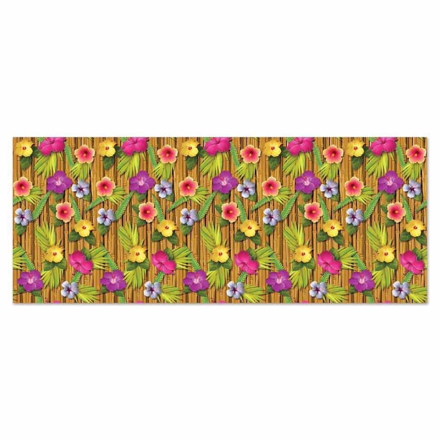 Wanddecoratie Hibiscus bloemen