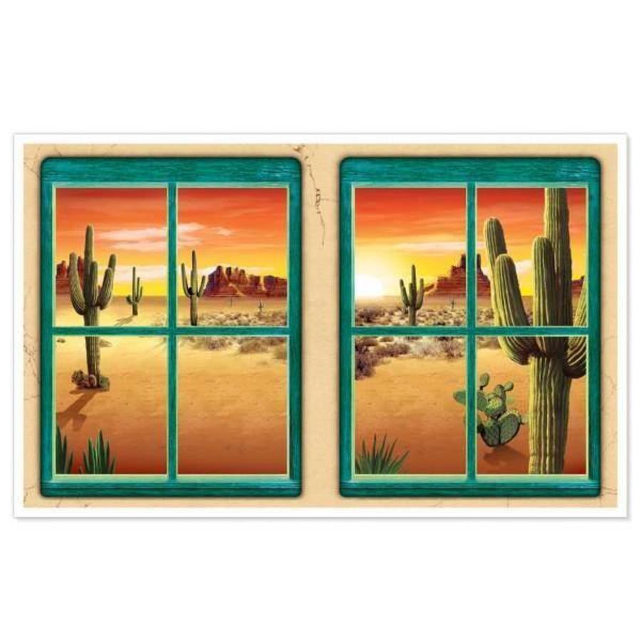 Muurposter Desert view
