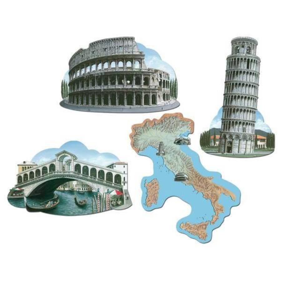 Decoratie Italië 4 stuks