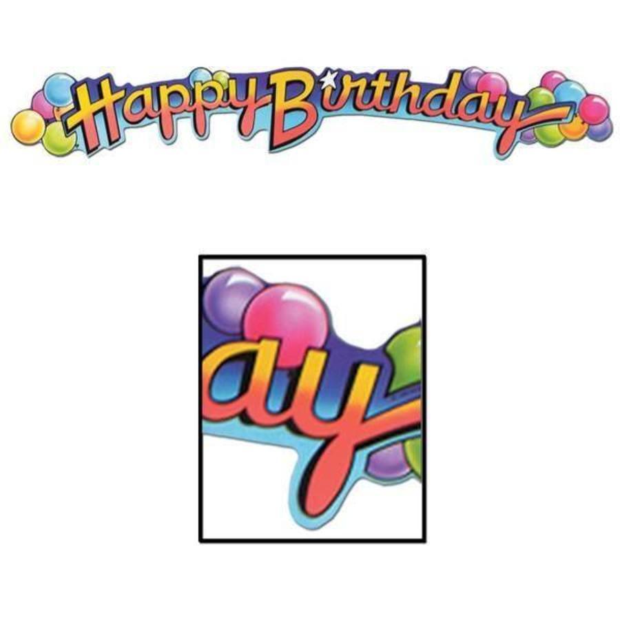 Slinger decoratie Happy Birthday Expandable