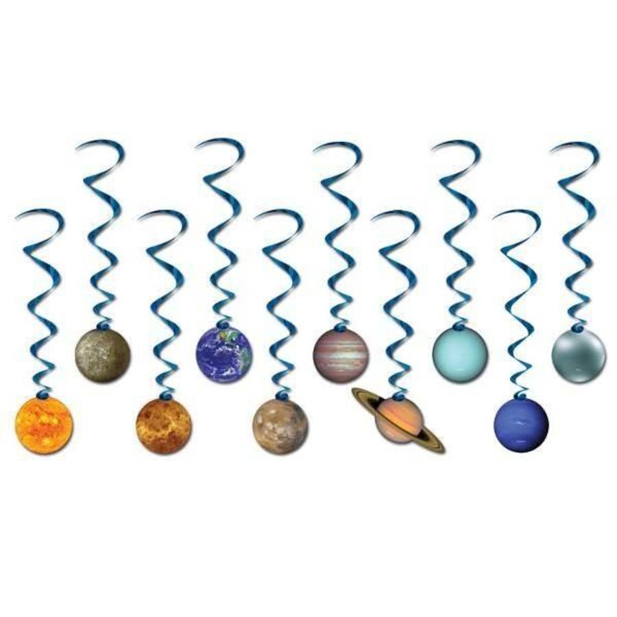Hangdecoratie Whirls Solar System