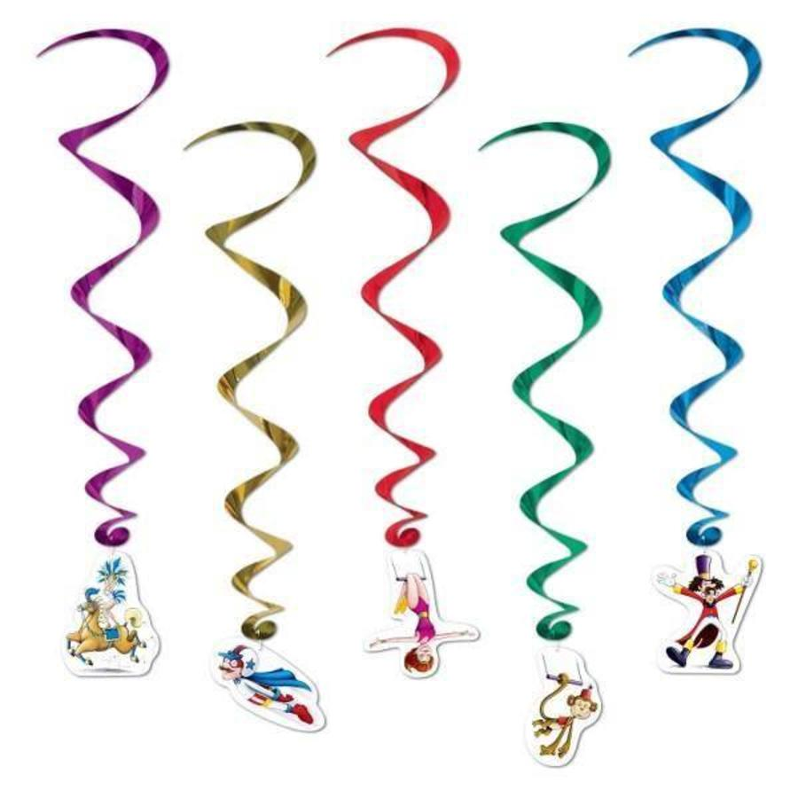 Hangdecoratie Whirls Circus