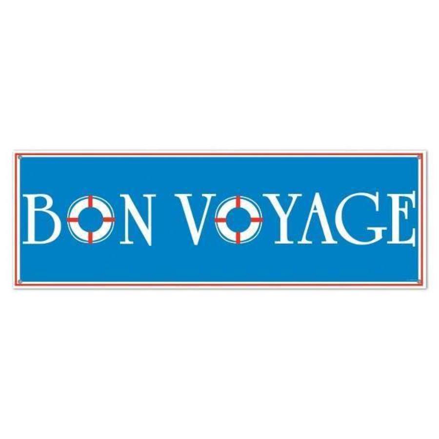 Banner Bon Voyage groot
