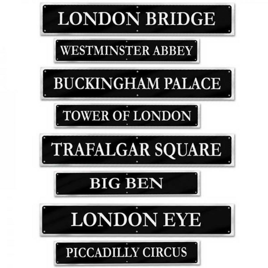 Decoraties Street Signs Engeland