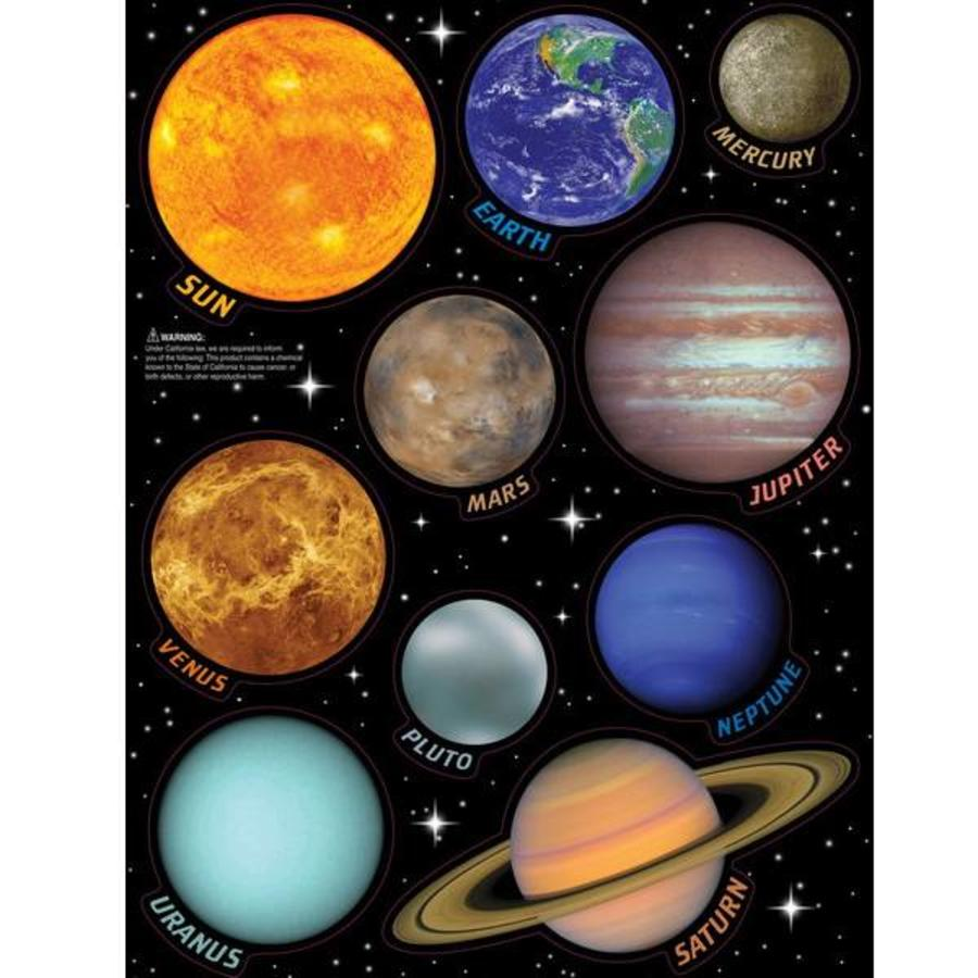 Solar System Space Stickers