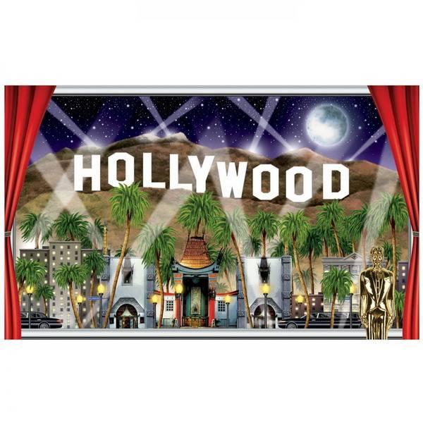 Muurposter Hollywood