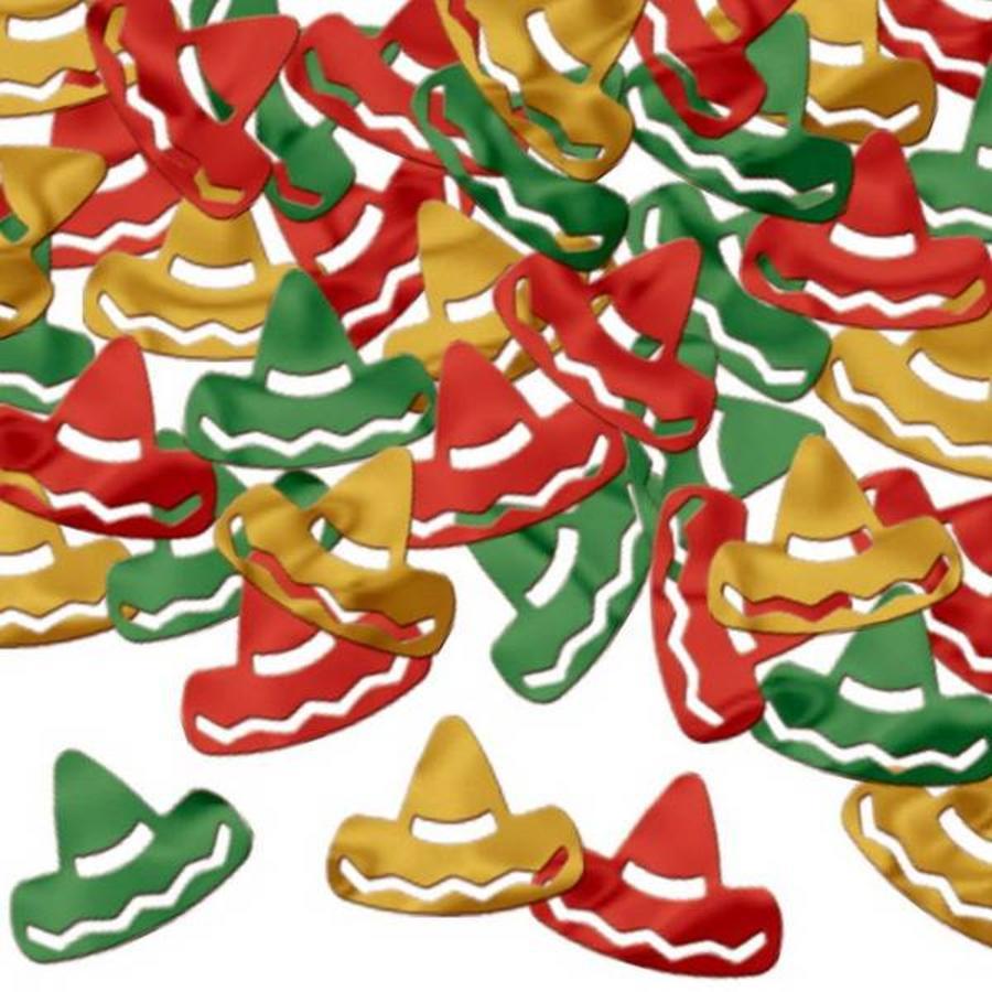 Tafelconfetti Sombrero's