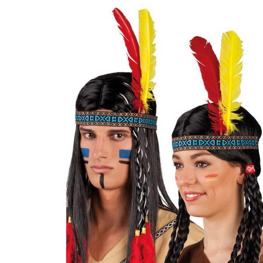 Indianenband met veren