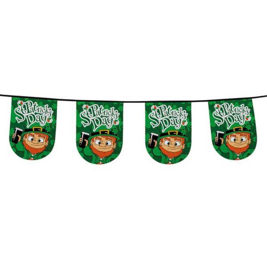 St Patricks Day vlaggenlijn 6 meter