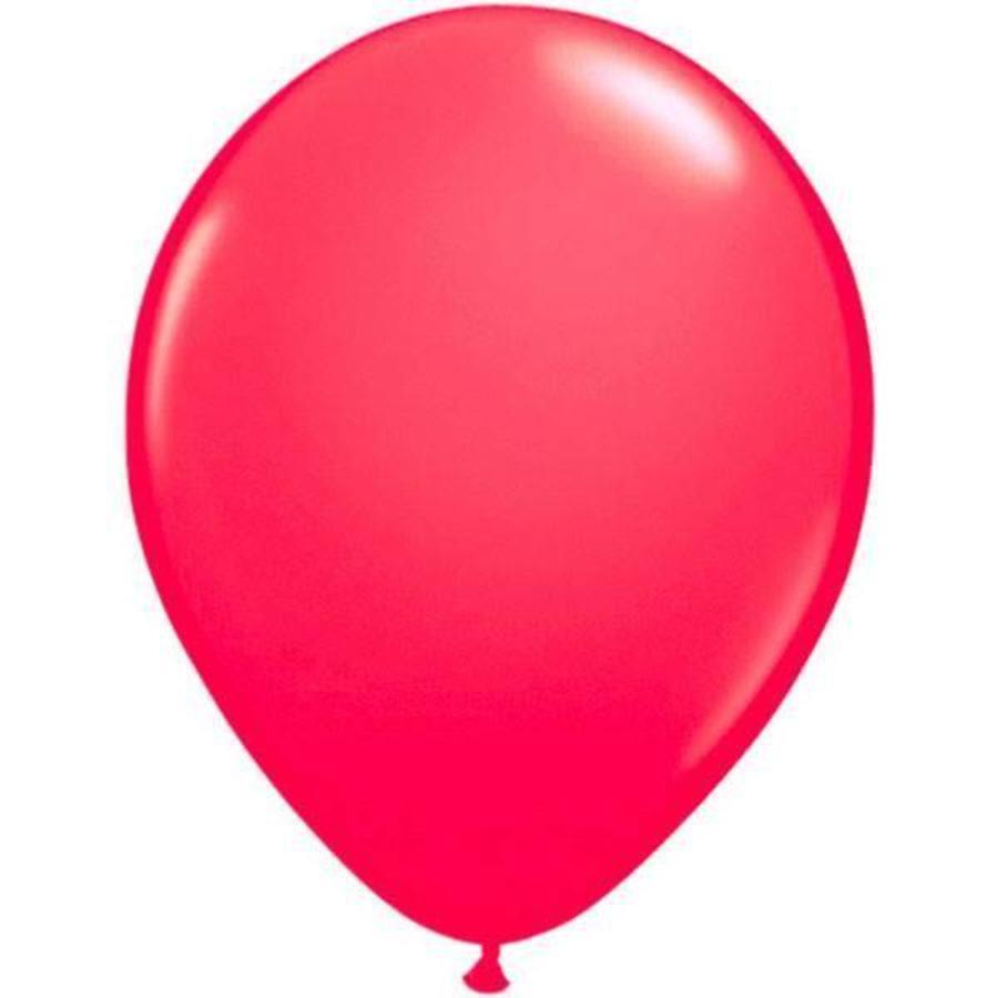 Fluor ballonnen pink 8 stuks