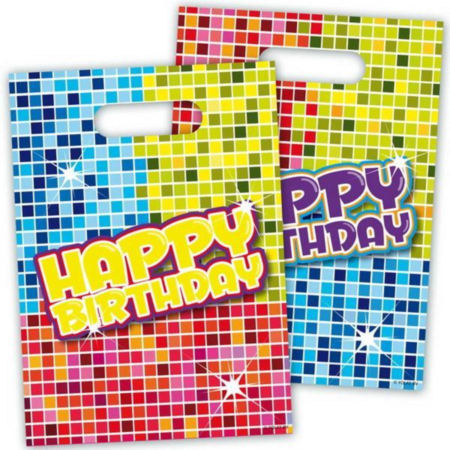 Partybags Happy Birthday Blocks