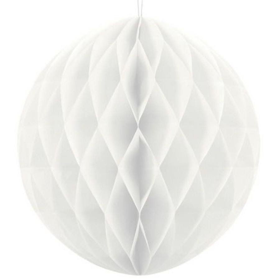 Honeycomb decoratie 30cm wit